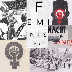 Bildcollage Feminismus